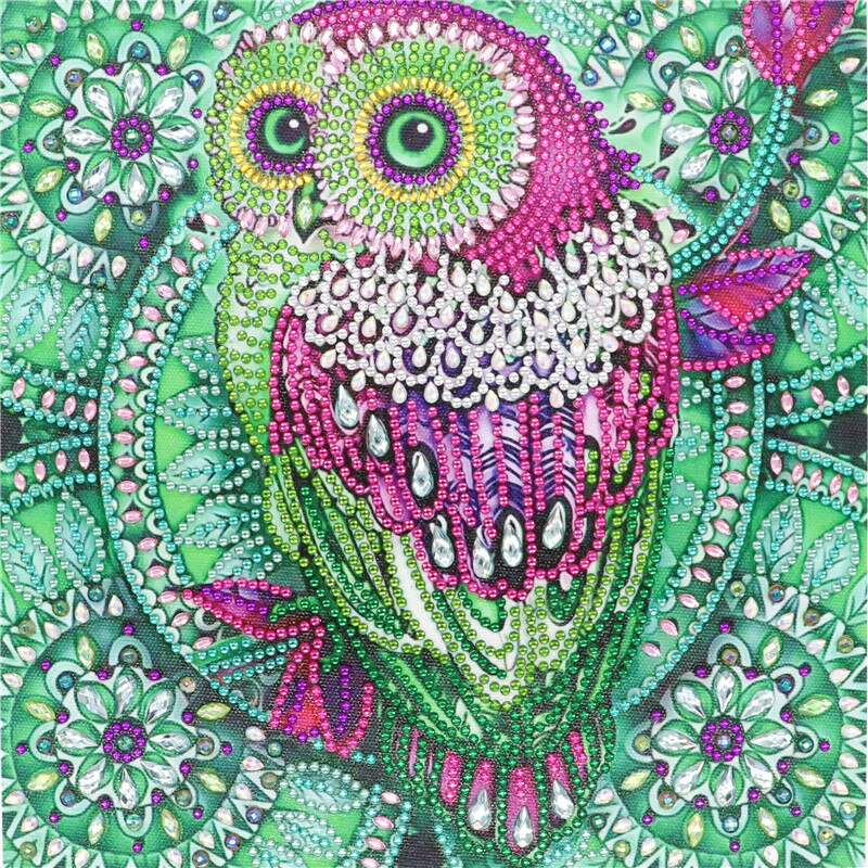 Magical Owl Diamond Painting