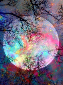 Mystical Moon Diamond Painting