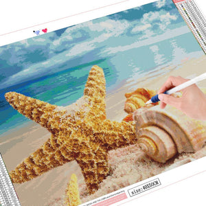 Starfish Diamond Painting
