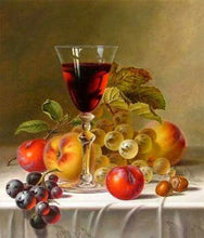 Load image into Gallery viewer, Fruits & Wine Diamond Painting