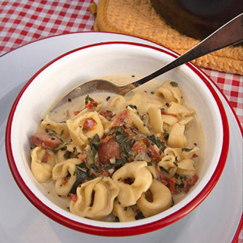 Cheese Tortellini Soup  $7.95