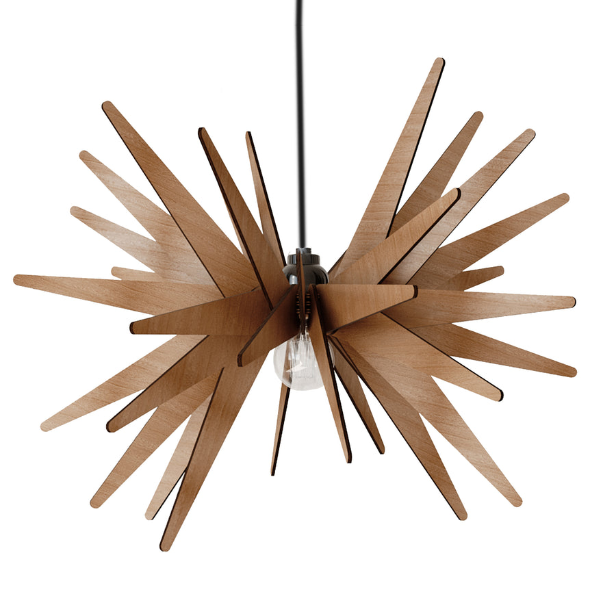 Dezaart Wooden Pendant Light