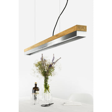 GANTlights | C1 Stainless Steel Oak Pendant Light
