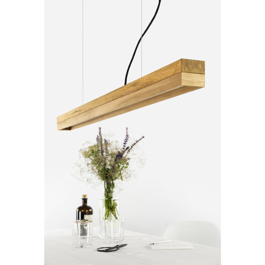 GANTlights | C1 Oak Oak Pendant Light