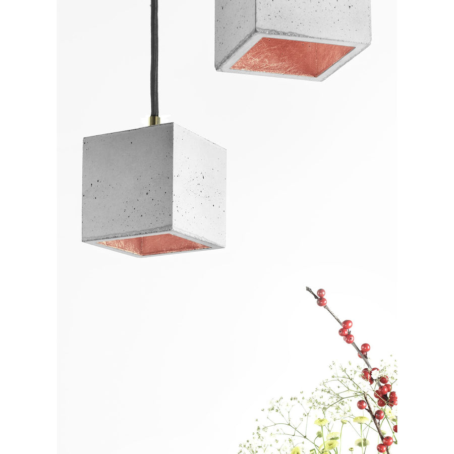 GANTlights |  B6 Pendant Light Cubic Small