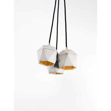 GANTlights | T2 Triangle Bundle Pendant Light