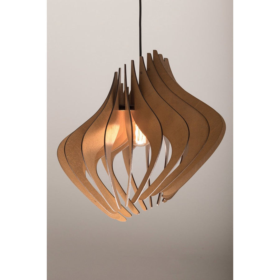 Wood pendant Light architectural lighting