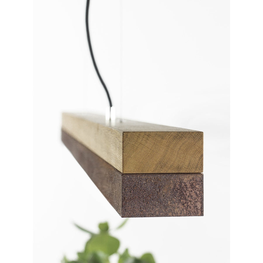 GANTlights | C1 Corten Steel Oak Pendant Light