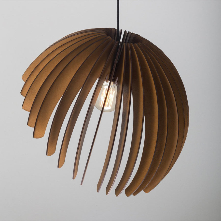 Wood pendant dining room feature light office lighting