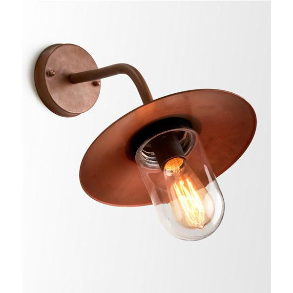 Copper Exterior wall light vintage industrial