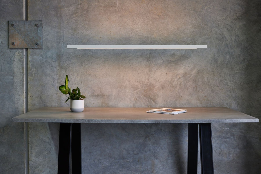 Linear White LED Pendant from Social Light