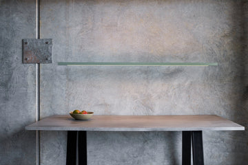 Linear Sage Green LED Pendant Light from Social Light
