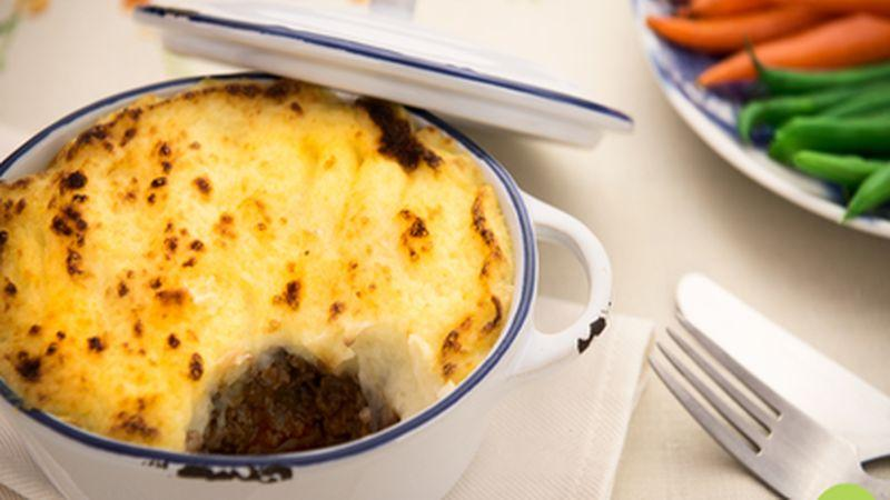 Beef Shepherds Pie With Chedder Spiked Mash Potato