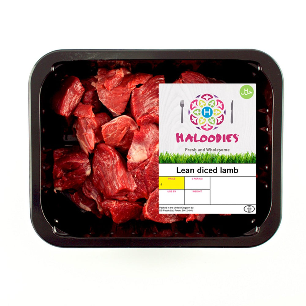 Buy Fresh Halal Diced Lamb With Home Delivery