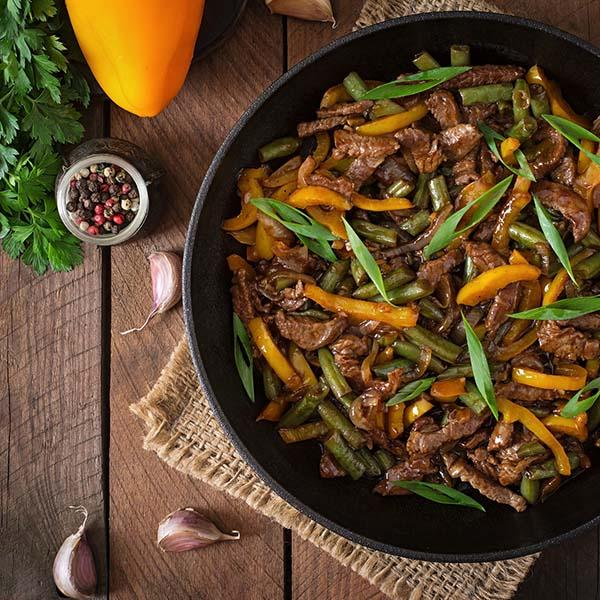 Halal Fresh Beef Stir Fry Strips