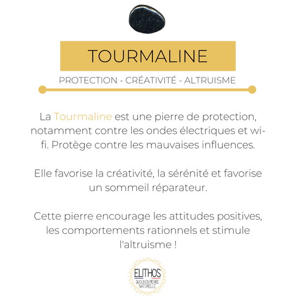 Tourmaline protection des influences