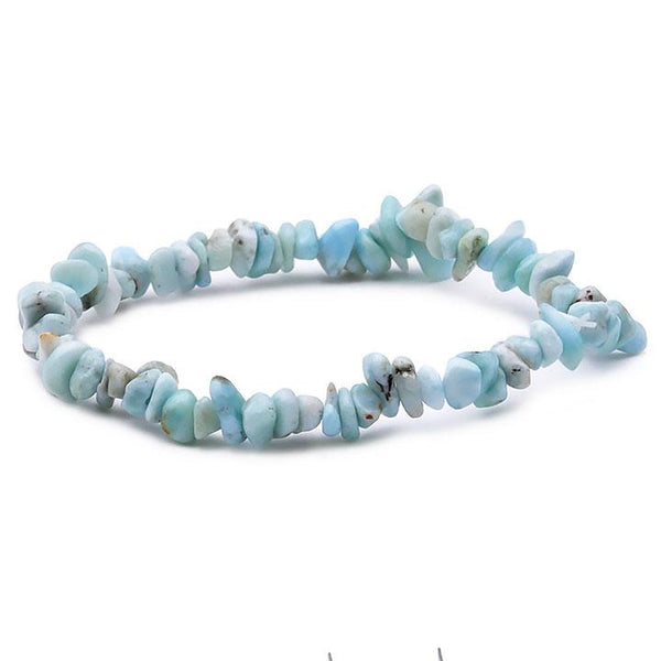 Bracelet pierre larimar style baroque provenance république dominicaine