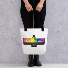 Load image into Gallery viewer, Queer St. West Tote bag