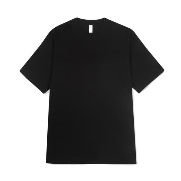 Prime pocket tee black