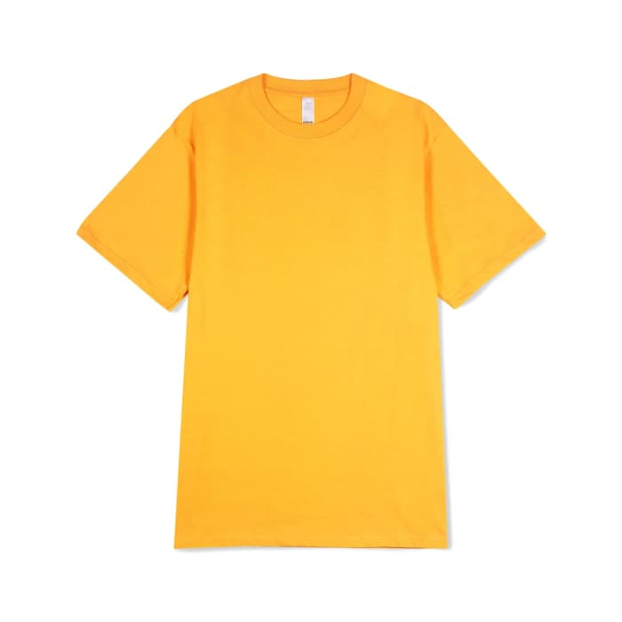 Prime tee yellow - Folk Store