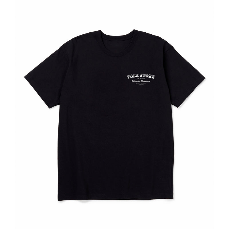 Folk supply delivering tee black - Folk Store