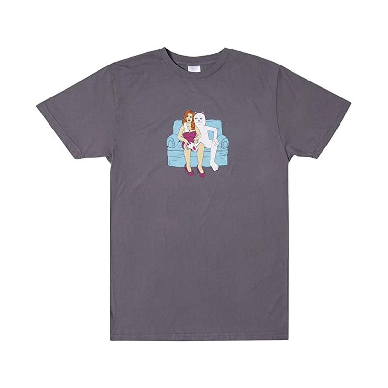 Ripndip inside activities tee grey - Folk Store