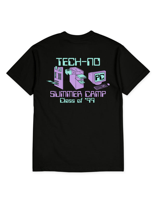 PC NO TECH TEE - BLACK