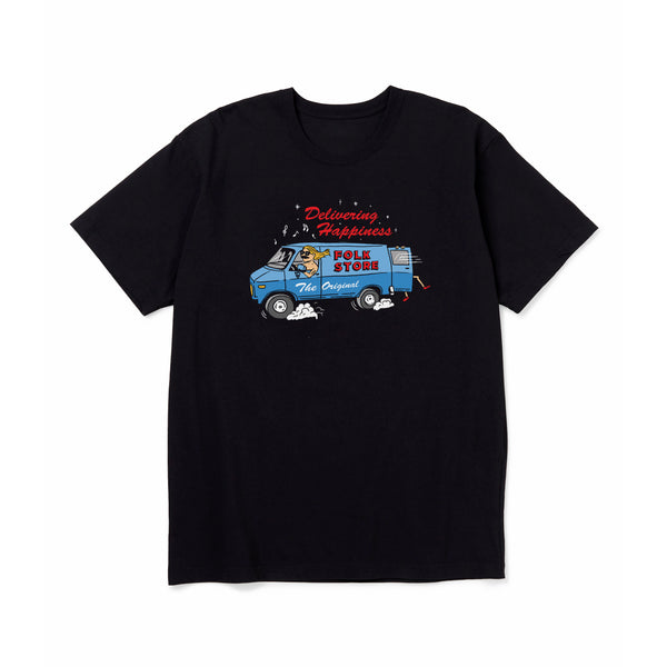 Folk supply truck tee black - Folk Store