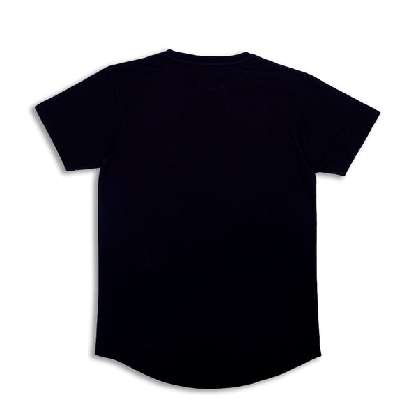 W.Essentiels tee chest black - Folk Store