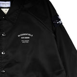 W.Essentiels bel castel windbreaker black - Folk Store