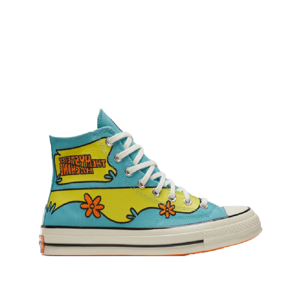 Converse x scooby doo pool blue