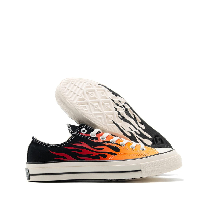 Converse 70s low flame black white