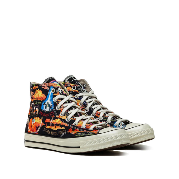 Converse 70s wild west energy high black white - Folk Store