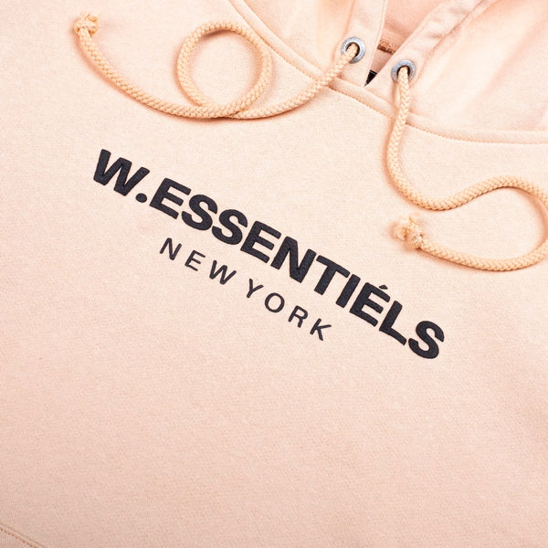W.Essentiels hoodie tan - Folk Store