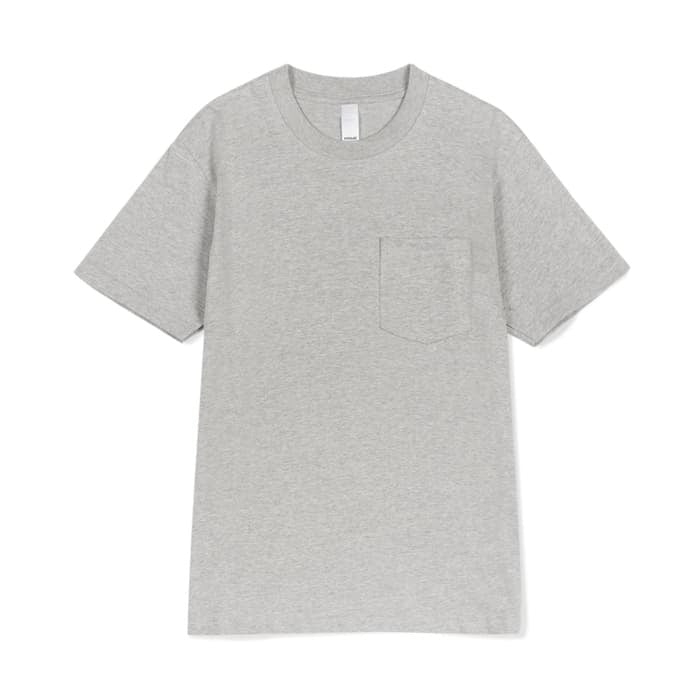 Prime pocket tee grey