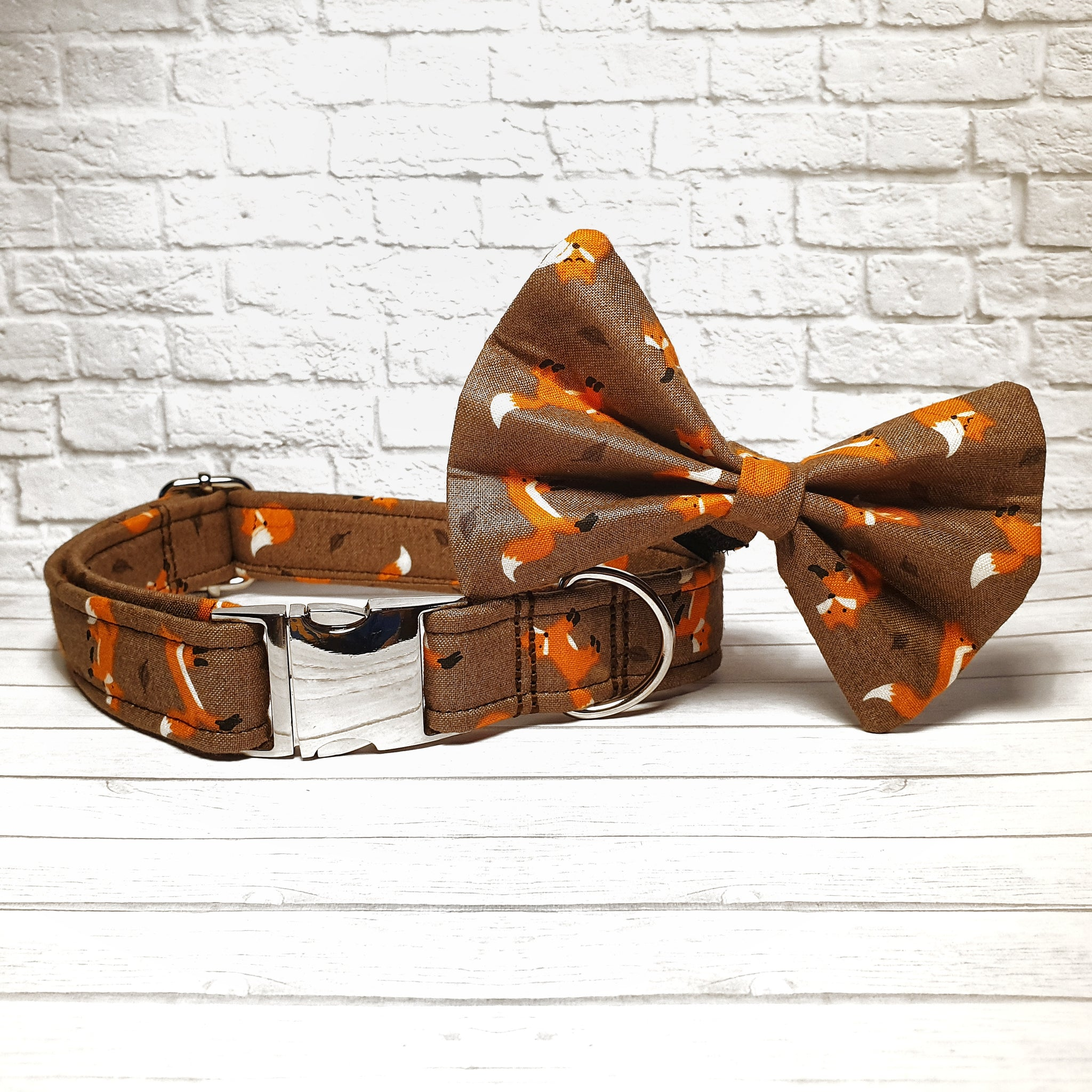 Brown Fox Dog Collar