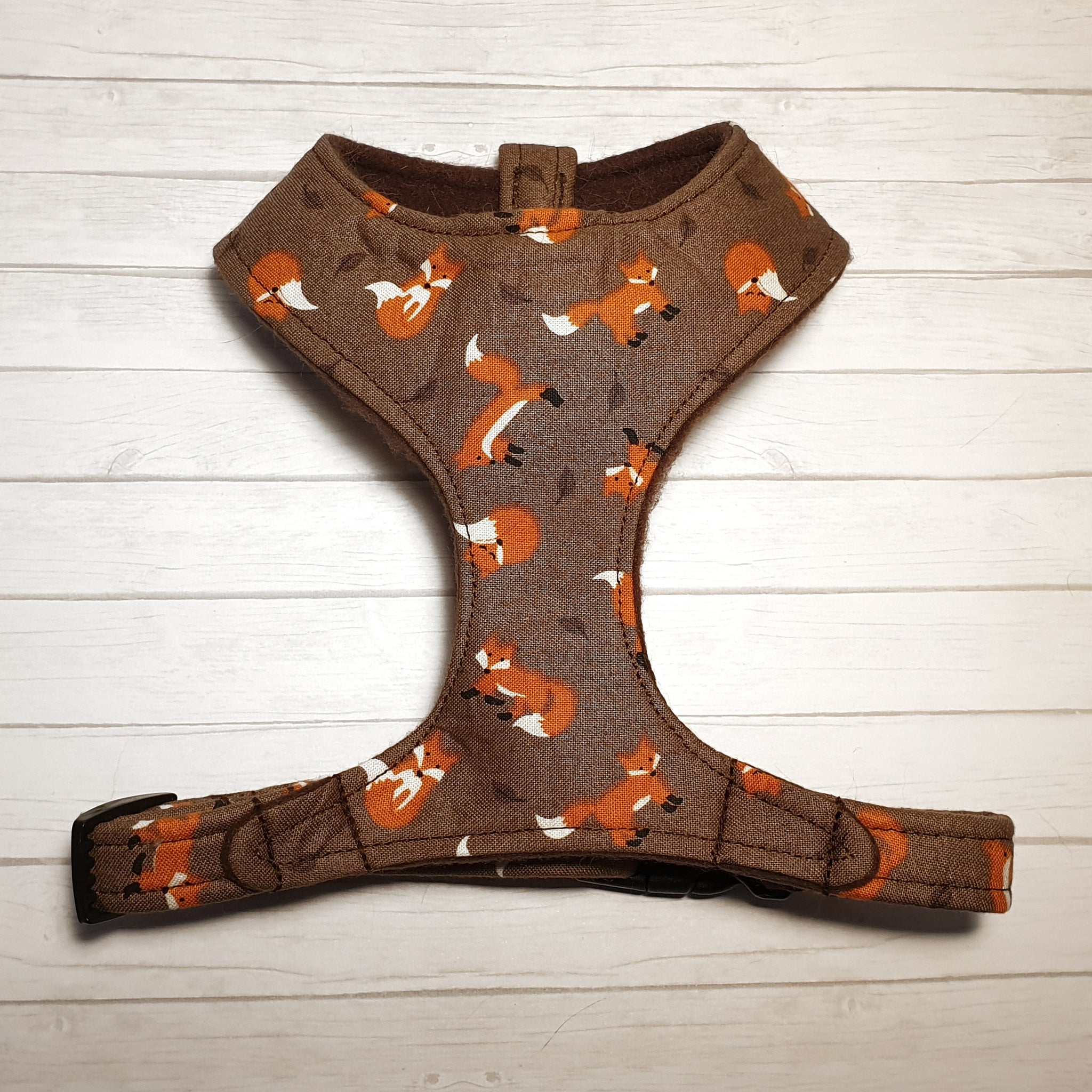 Brown Fox Vest Harness