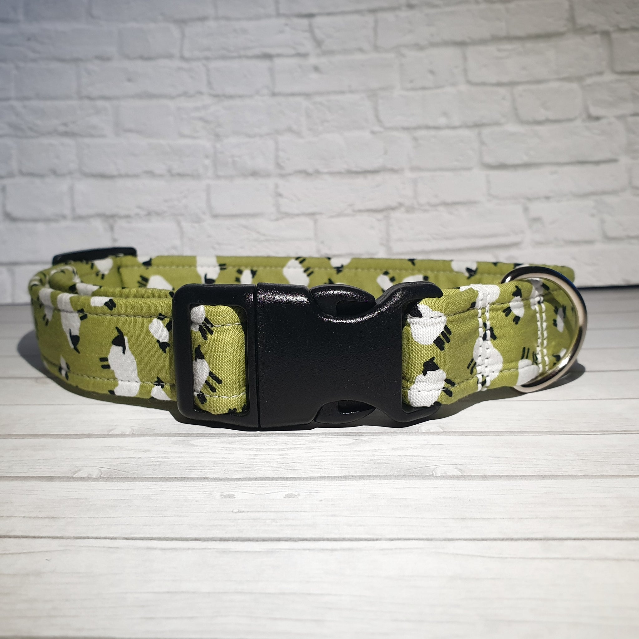 Light Green Sheep Dog Collar