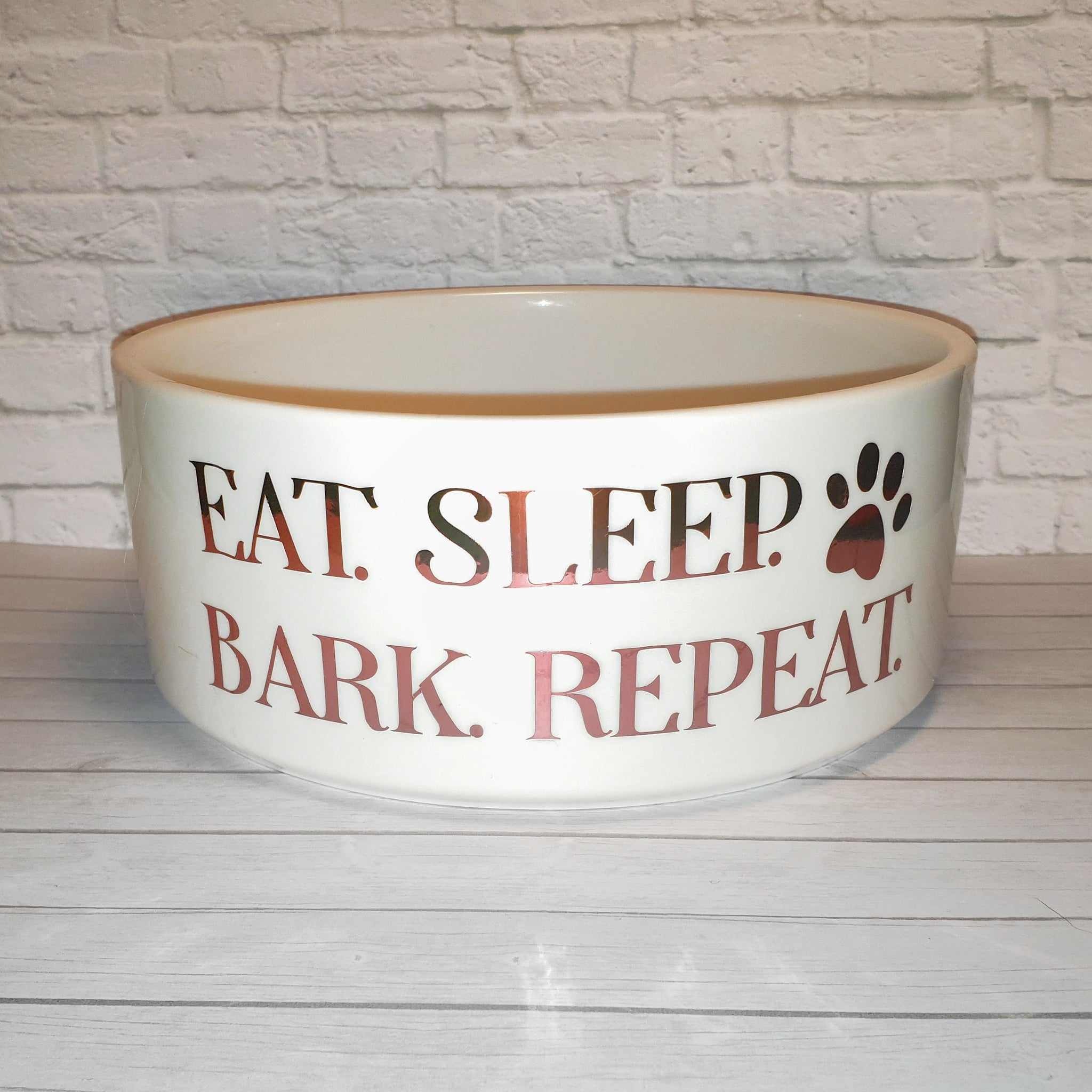 Dog Bowl – Eat. Sleep. Bark. Repeat.