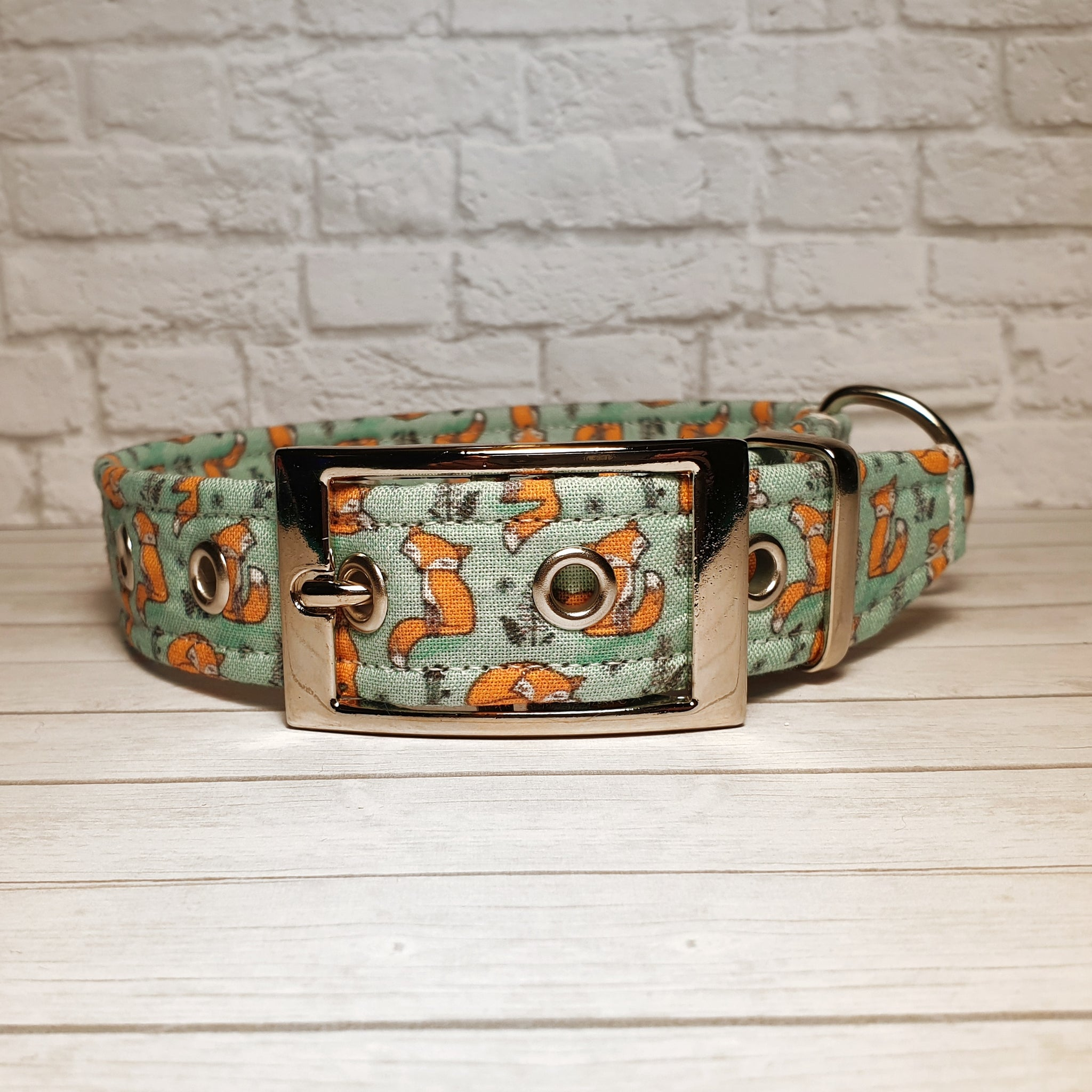 Blue Fox Dog Collar