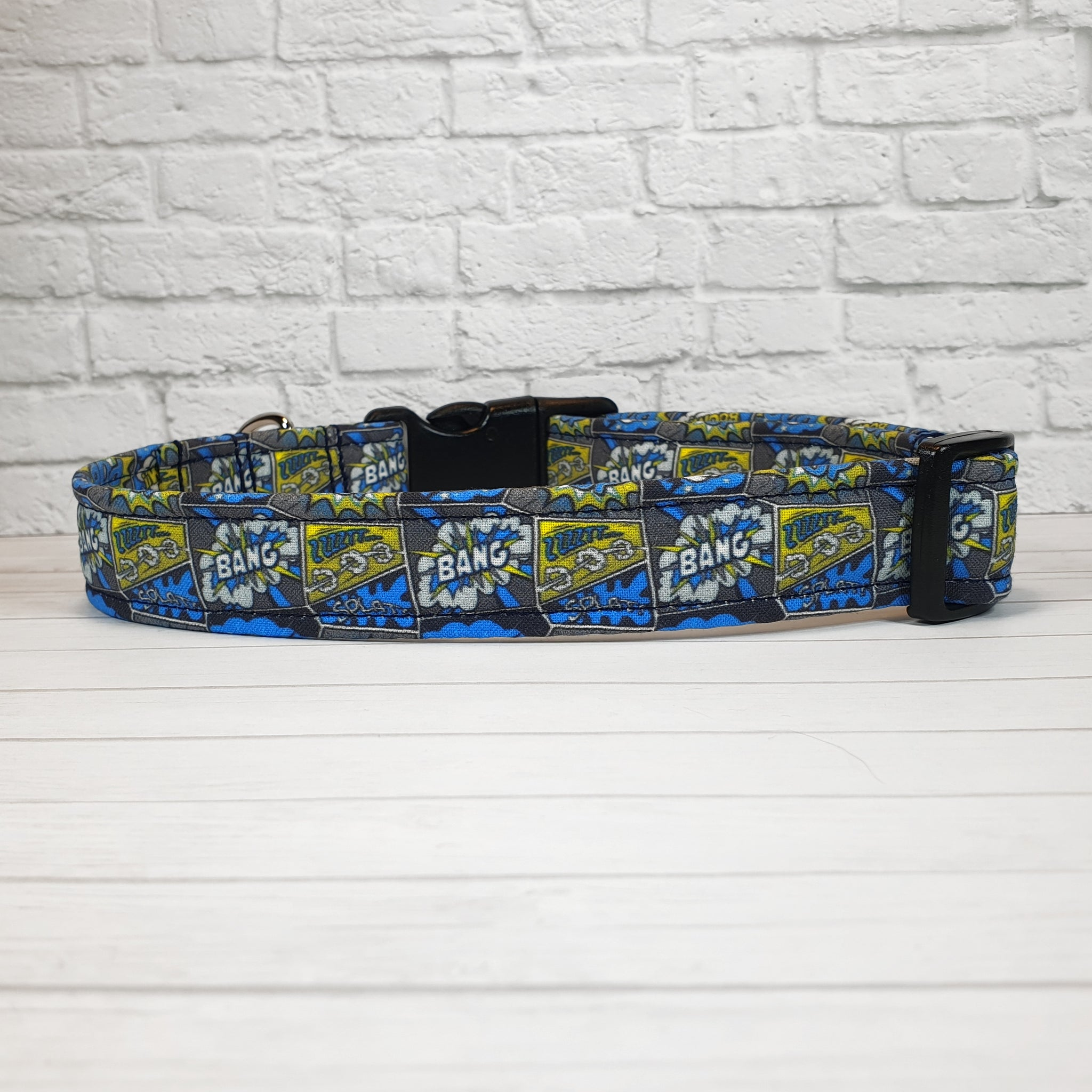 Comic Book Dog Collar