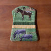 Cute Donkey & Horse Business Card Holder
