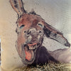 Funny Donkey Pillow Cover