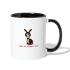 I Need My Donkey Time Coffee Mug - white/black