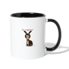 My Therapist Donkey Coffee Mug - white/black
