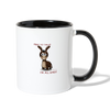 Need To Talk, I'm All Ears! Coffee Mug - white/black