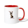 Need To Talk, I'm All Ears! Coffee Mug - white/red