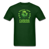 St Patrick's Day Donkey Mom T-Shirt - forest green