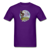 You Can't Buy Happiness Cute Donkey Farm Shirt - purple