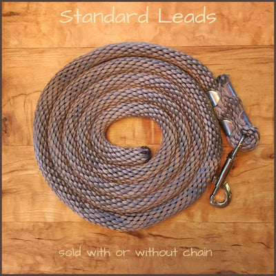 Standard lead ...with (+$5) or without chain